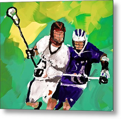 Lacrosse I Metal Print