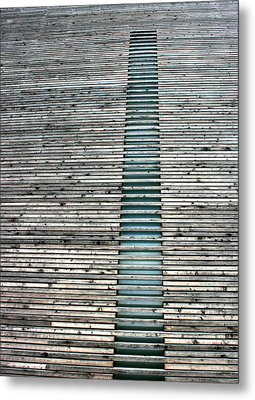 Metal Print featuring the photograph Ladder To Zen by David Dunham