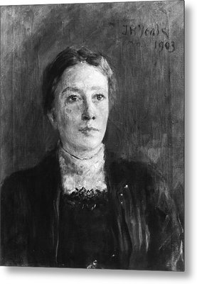Lady Augusta Gregory Metal Print