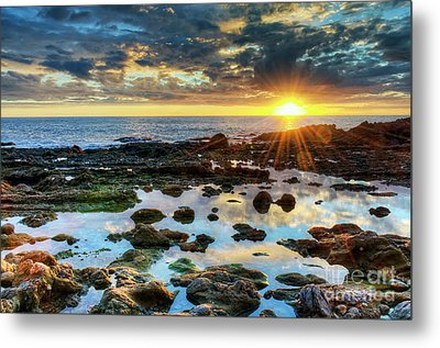 Metal Print featuring the photograph Laguna Beach Tidepools by Eddie Yerkish
