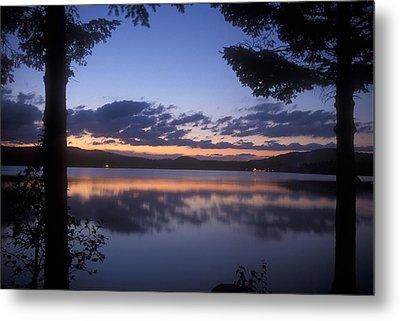 Lake Francis Twilight Metal Print by John Burk