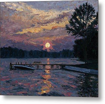 Lake Martin Sunset Metal Print by Tyler Smith