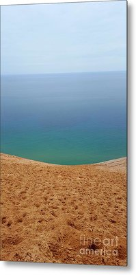 Lake Michigan Colors Metal Print