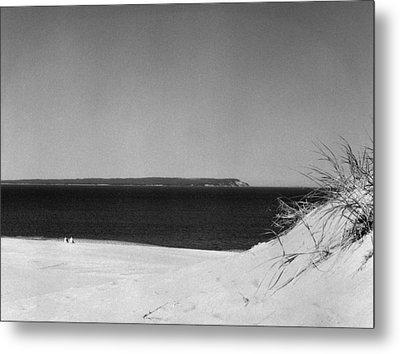 Lake Michigan Shoreline Manitoulin Island Metal Print by Richard Singleton