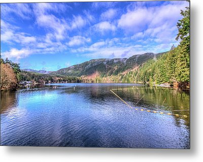 Lake Samish Metal Print by Spencer McDonald