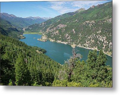 Lake San Cristobal Metal Print by Aaron Spong