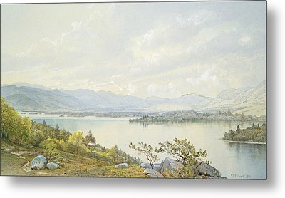 Lake Squam And The Sandwich Mountains Metal Print