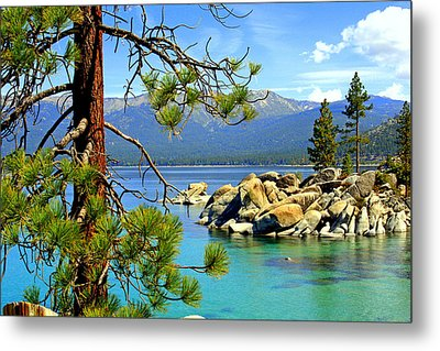 Lake Tahoe Colors Metal Print