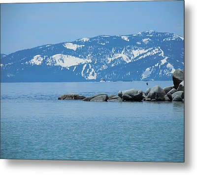Metal Print featuring the photograph Lake Tahoe by Dan Whittemore