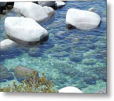 Lake Tahoe In May Metal Print by Dan Whittemore