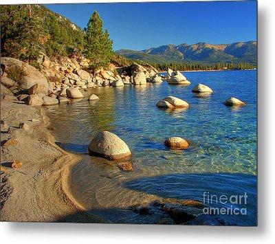 Lake Tahoe Tranquility Metal Print