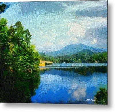 Lake Tahoma In Marion Nc Metal Print by Elizabeth Coats