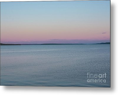 Lake Temiskaming Pastel Sunset Metal Print