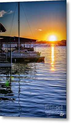 Metal Print featuring the photograph Lake Travis by Walt Foegelle