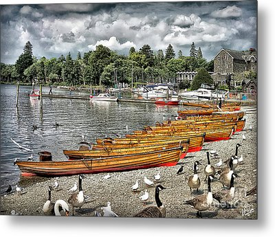 Metal Print featuring the photograph Lake Windamere by Walt Foegelle