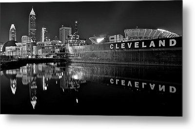 Lakefront Charcoal Metal Print by Frozen in Time Fine Art Photography