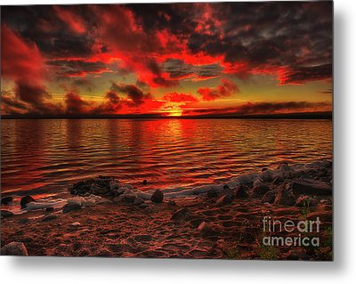 Lakeside Dream Metal Print