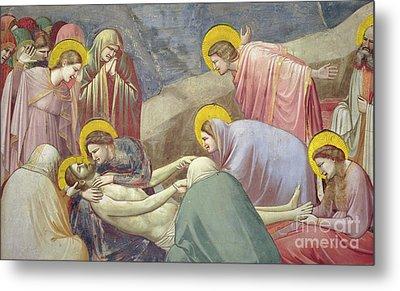 Lamentation Over The Dead Christ Metal Print