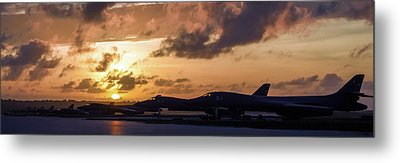 Lancer Flightline Metal Print