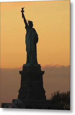 Land Of The Free And The Brave Metal Print by Emmy Vickers