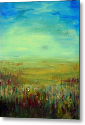 Landscape Abstract Metal Print