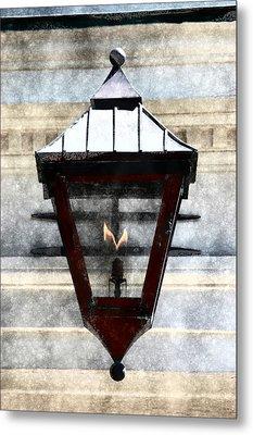 Lantern 13 Metal Print by Donna Bentley