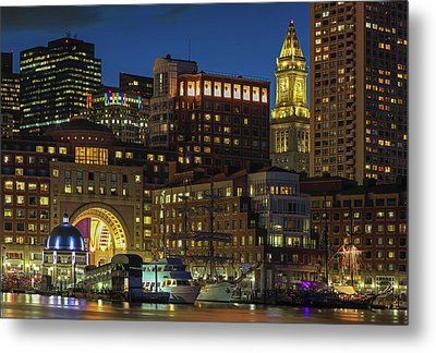 Metal Print featuring the photograph Last Glimpse Of Sail Boston by Juergen Roth
