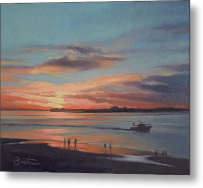 Last Light, Edisto Metal Print by Todd Baxter