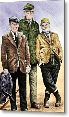 Last Of The Summer Wine Colour Metal Print by Andrew Read