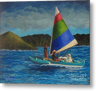 Last Sail Before The Storm Metal Print