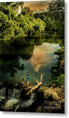 Metal Print featuring the photograph Last Seconds Of Summer by Robert Frederick