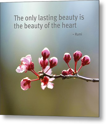 Lasting Beauty Metal Print