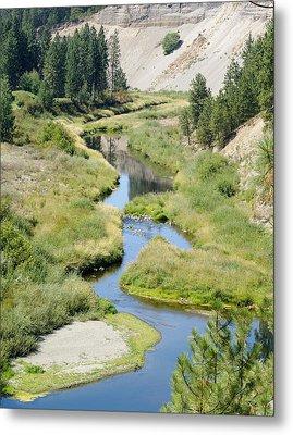 Metal Print featuring the photograph Latah Creek by Ben Upham III