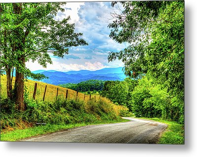 Laurel Hill View Metal Print