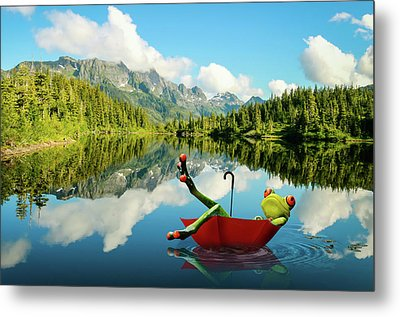 Lazy Days Metal Print by Nathan Wright