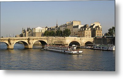 Le Pont Neuf. Paris. Metal Print by Bernard Jaubert