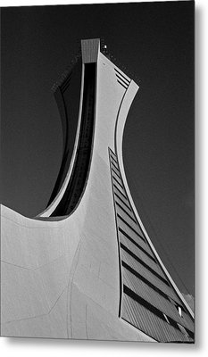 Le Stade Olympique De Montreal Metal Print by Juergen Weiss