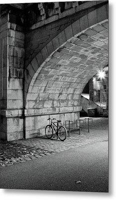 Le Vélo Metal Print by I hope you'll like it