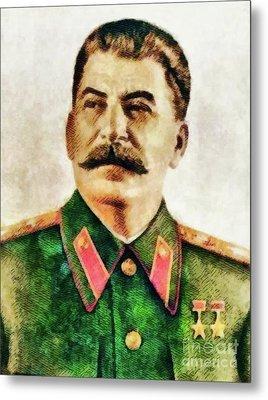 Leaders Of Wwii - Joseph Stalin Metal Print