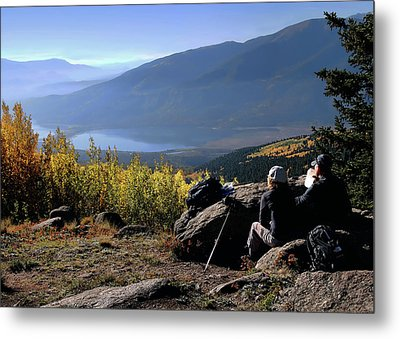 Metal Print featuring the photograph Learn To Be Still by Jim Hill