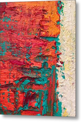 Learning Curve One Metal Print