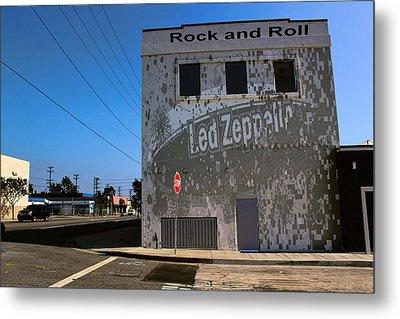 Led Zeppelin I Metal Print by RJ Aguilar