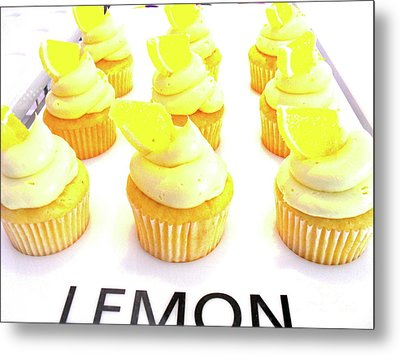 Metal Print featuring the photograph When Life Gives You Lemons by Beth Saffer