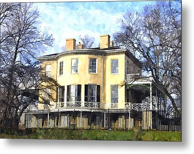 Lemon Hill Mansion Metal Print