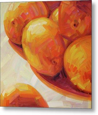 Lemons In Natural Light IIi Metal Print