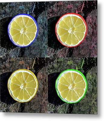 Lemons Metal Print by Rob Hawkins