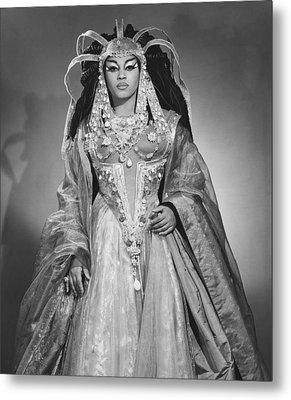 Leontyne Price B. 1927, As Cleopatra Metal Print by Everett