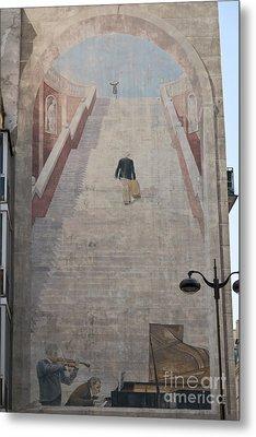 L'escalier By Fabio Rieti Metal Print by Fabrizio Ruggeri