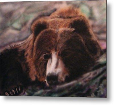 Let Sleeping Bears Lie Metal Print by Frank  Bingo