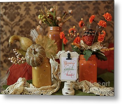 Let Us Give Thanks Metal Print by A New Focus Photography